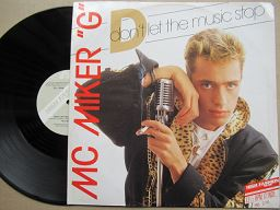 Mc Miker G | Don't Let The Music Stop ( USA VG )