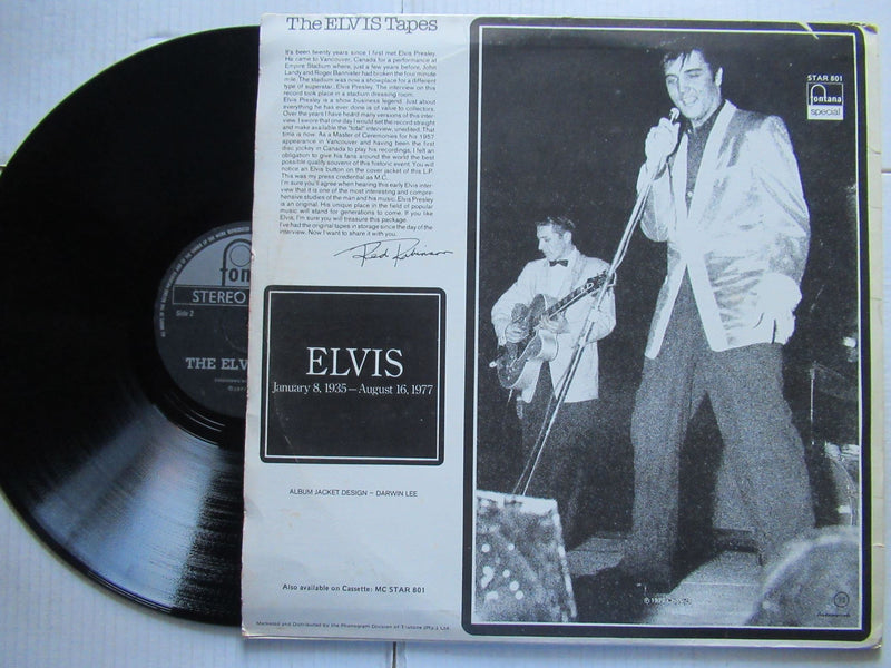 The Elvis Tapes | Interviews ( RSA VG+ )