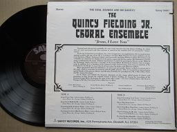 The Quincy Fielding Jr Choral Ensemble | Jesus I Love You ( USA VG+ )