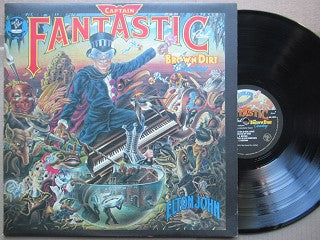 Elton john | Captain Fantastic And The Brown Dirt Cowboy ( Holland VG+ )