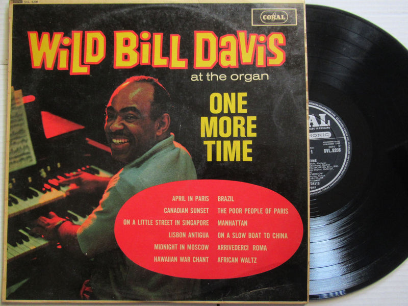 Wild Bill Davis At The Organ | One More Time | UK | VG