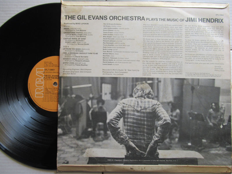 The Gil Evans Orchestra | Plays The Music Of Jimi Hendrix | RSA | VG+|