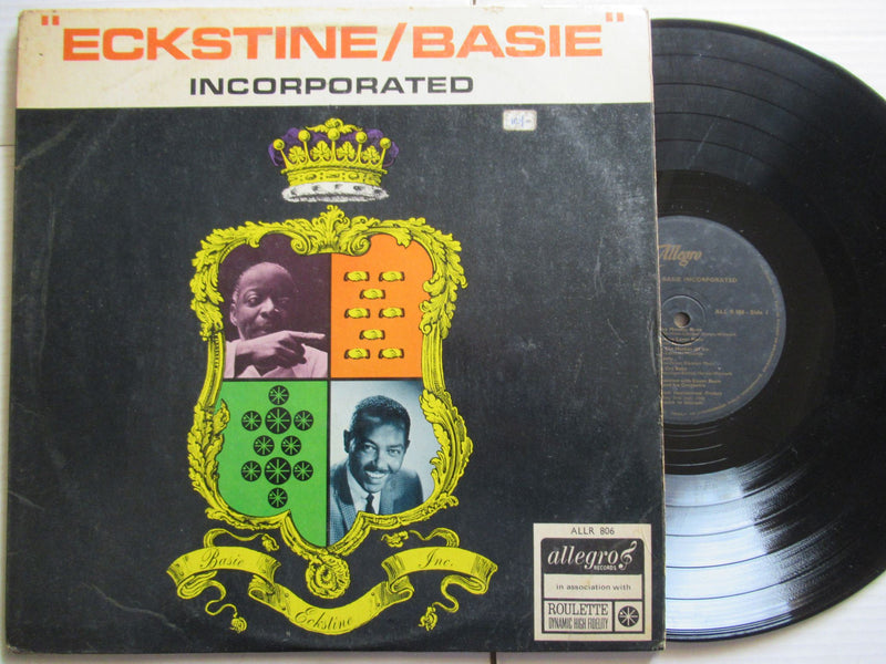 Eckstine & Basie | Incorporated | UK | VG