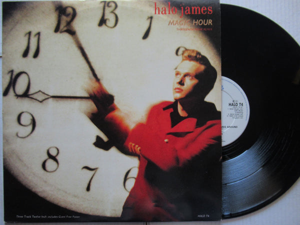 "Halo James | Magic Hour 12"" ( USA VG )"