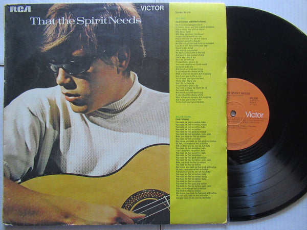 Jose Feliciano | That The Spirit Needs ( RSA VG )
