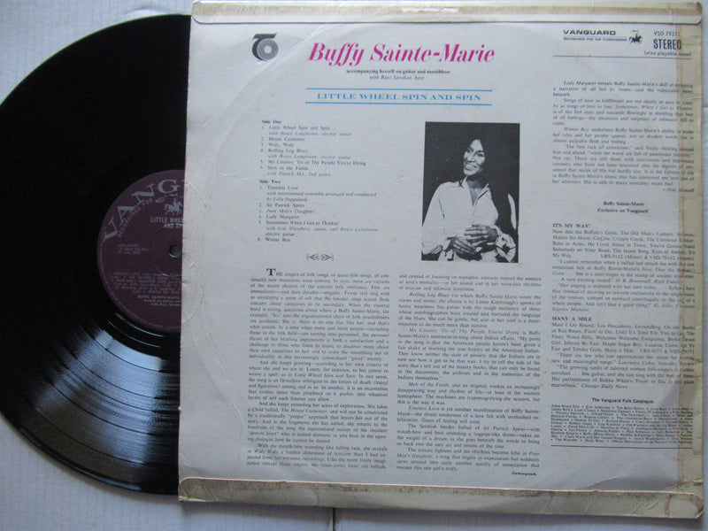Buffy Sainte Marie | Little Wheel Spin And Spin ( RSA VG )
