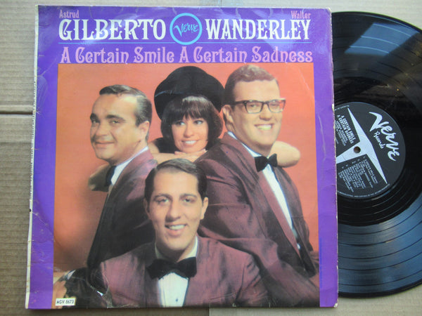 Astrud Gilberto, Walter Wanderley | A Certain Smile A Certain Sadness (RSA VG)