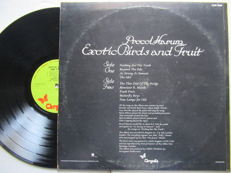 Procol Harum | Exotic And Fruit  ( RSA VG )