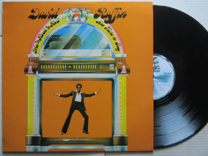 David Ruffin | Me 'n Roll Are Here To Stay ( RSA VG+ )