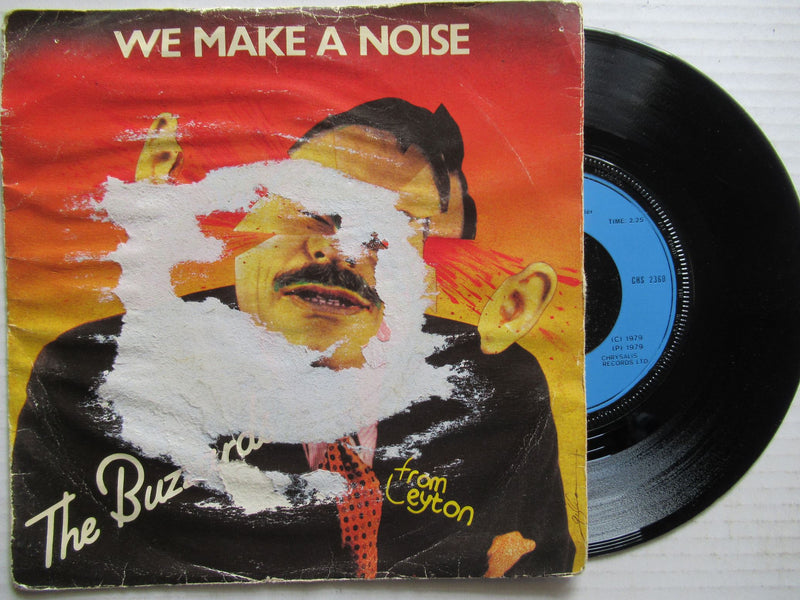 "The Buzzards | We Make A Noise 7"" (UK VG)"