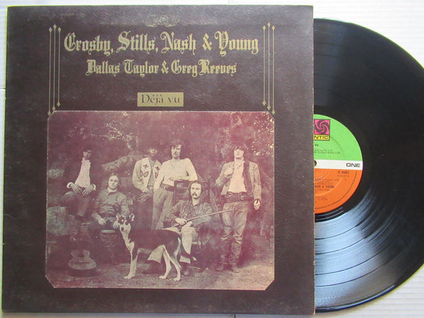 Crosby Stills Nash & Young | Deja Vu ( UK VG- )