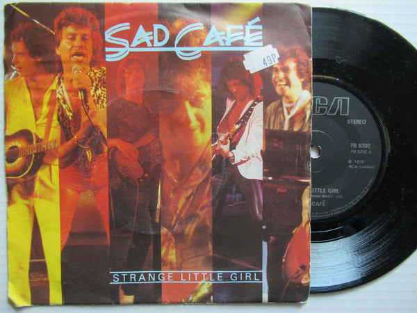 "Sad Cafe | Strange Little Girl 7"" UK VG"