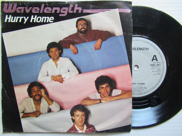 "Hurry Home | Wavelength 7"" UK VG"