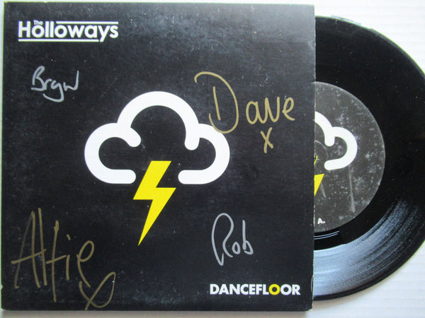 "The Holloways | Dancefloor 7"" UK VG Autographed"