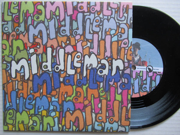 "Middleman | Blah Blah Blah 7"" Uk VG+"
