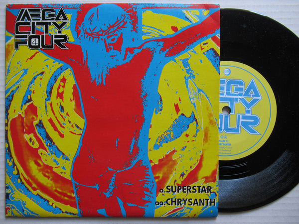 "Mega City For | Superstar 7"" UK VG+"