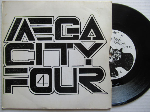"Mega City Four | Miles Apart 7"" UK VG"