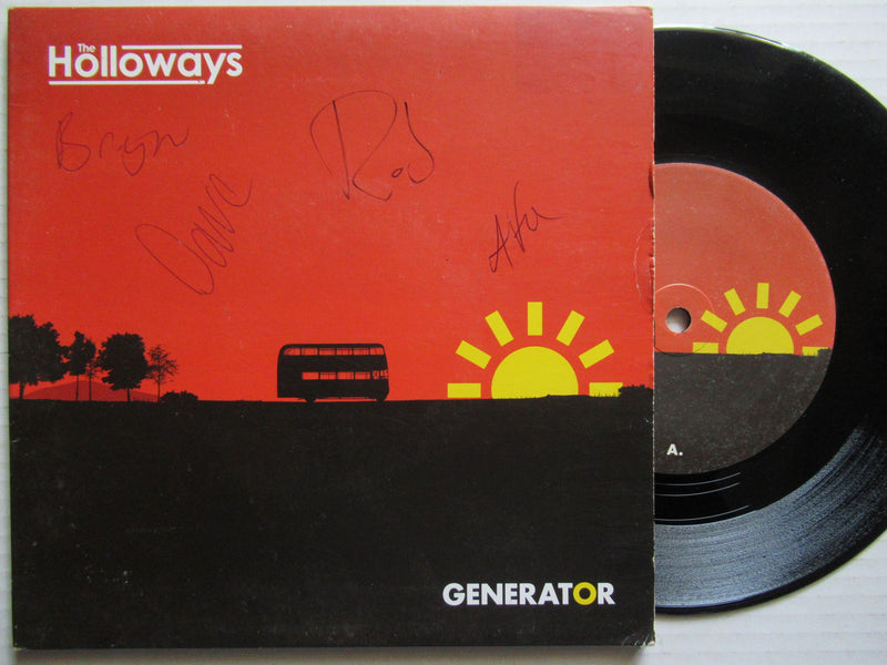 "The Holloways | Generator 7"" UK VG+ Autographed"