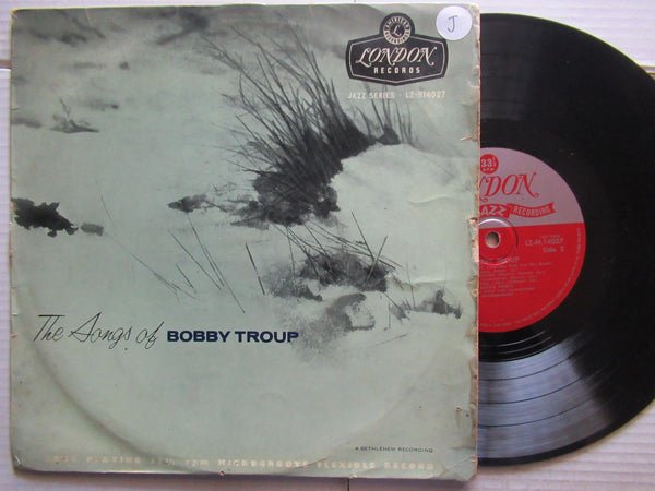 "Bobby Troup  -The Songs Of Bobby Troup ( UK VG 10"")"