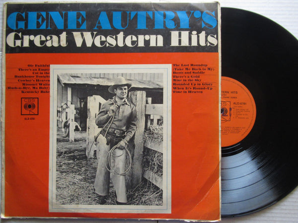 Gene Autry's | Great Western Hits ( RSA VG )