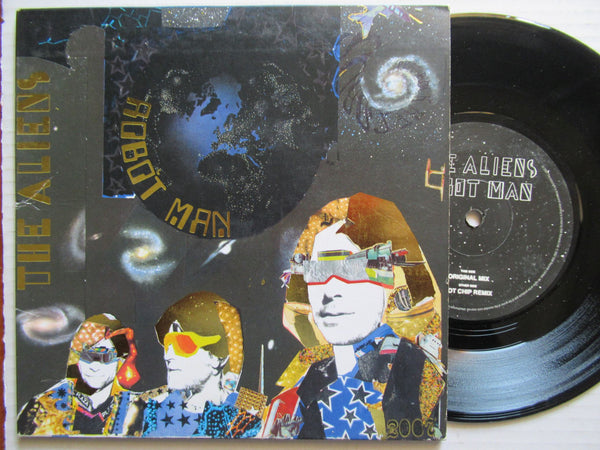 "The Aliens | Robot Man 7"" UK VG+"