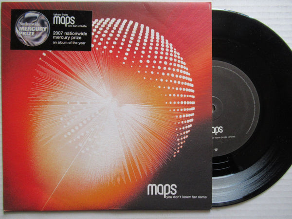 "Maps | You Don't Know Her Name 7"" UK VG+"