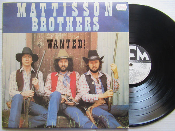 Mattisson Brothers | Wanted ( RSA VG+ )