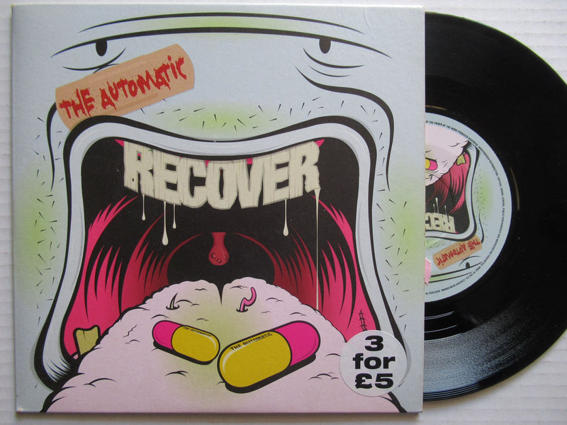 "The Automatic | Recover 7"" UK VG+"