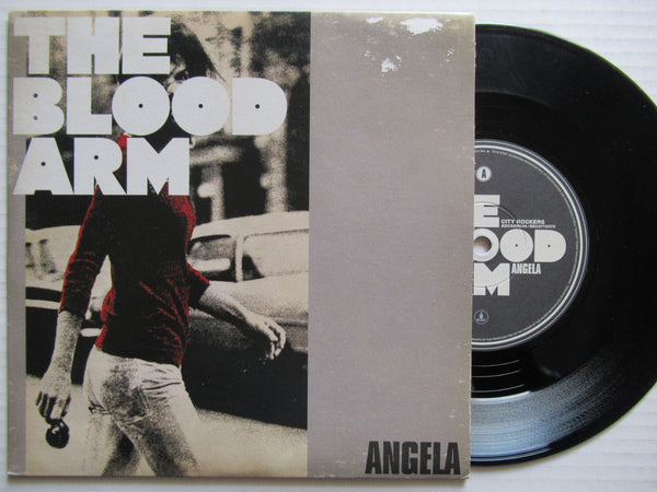 "The Blood Arm | Angela 7"" UK VG+"