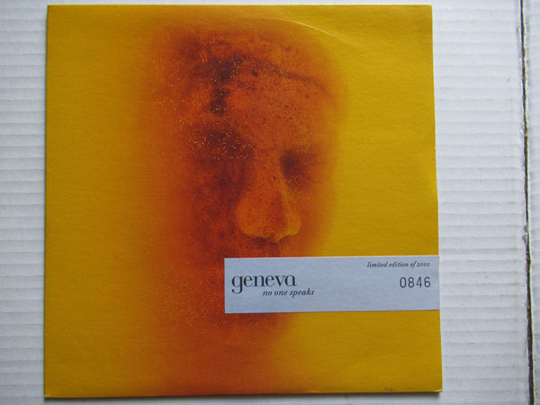 "Geneva | No One Speaks 7"" UK VG+"