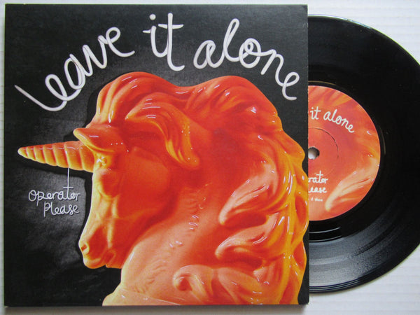 "Operator Please | Leave It Alone 7"" Uk VG+"