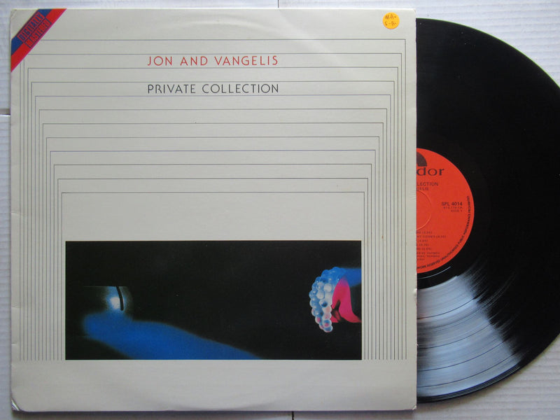 Jon And Vangelis | Private Collection ( RSA VG+ )
