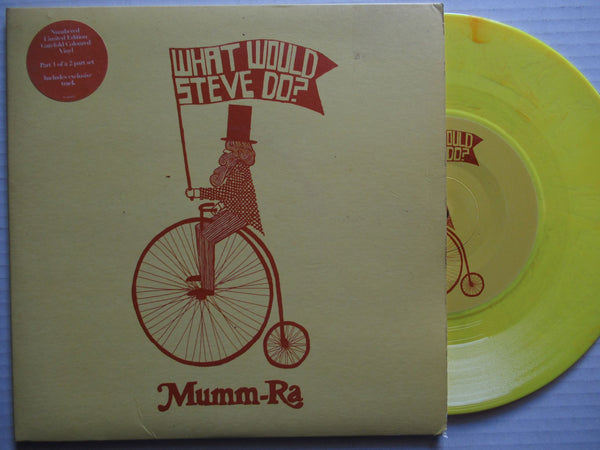 "Mumm Ra | What Would Steve Do 7"" UK VG+"