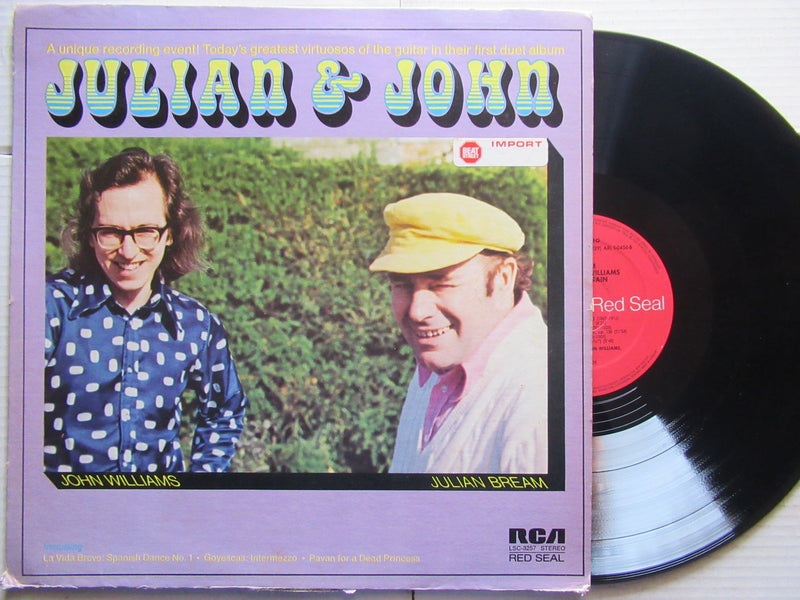 Julian Bream And John Williams | Together Again USA VG+ )