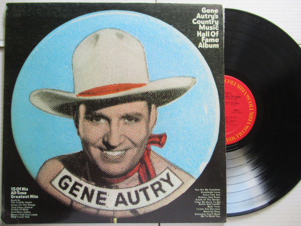 Gene Autry | Country Music Hall Of Fame Album (USA VG+)