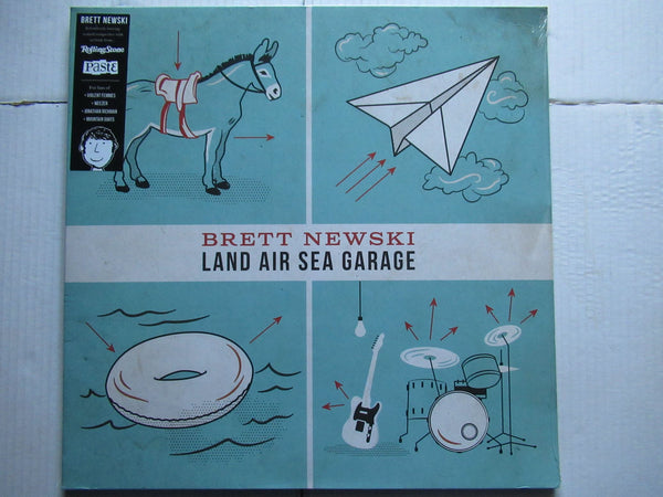 Brett Newski | Land Air Sea Garage (USA EX)