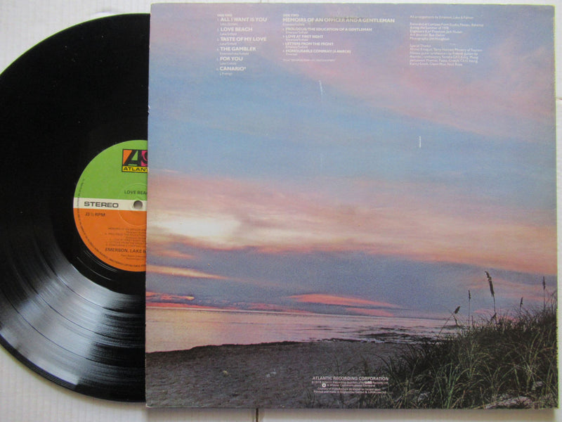 Emerson Lake & Palmer | Love Beach (UK VG+)