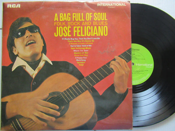Jose Feliciano | A Big Full Of Soul (UK VG+)
