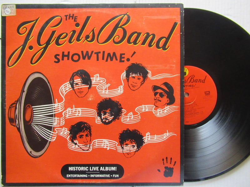 The J Geils Band | Showtime (RSA VG+)