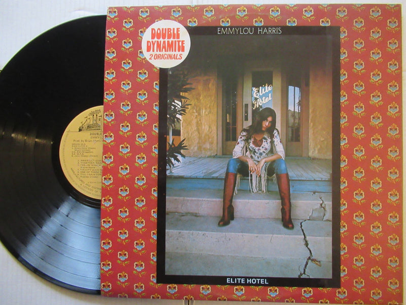 Emmylou Harris | Pieces Of The Sky / Elite Hotel (RSA VG+)