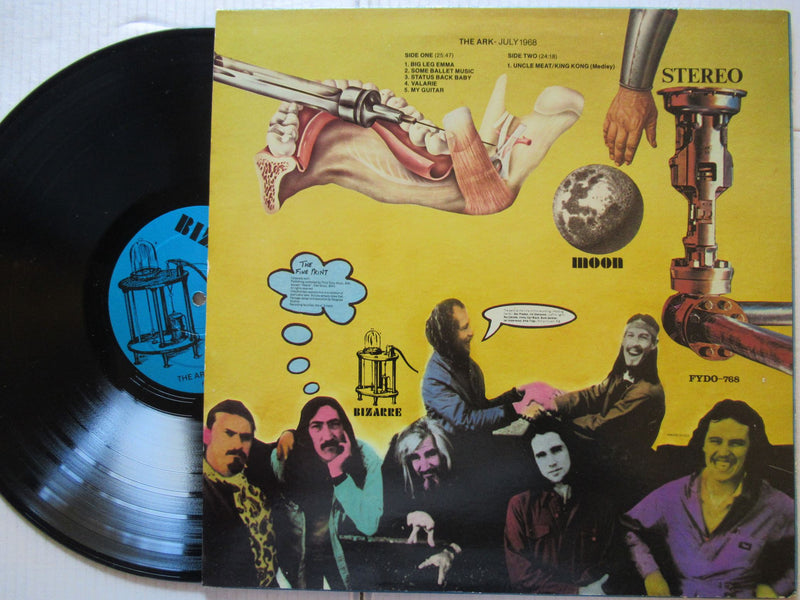 Mothers of Invention - The Ark July 1968 ( USA VG+ )