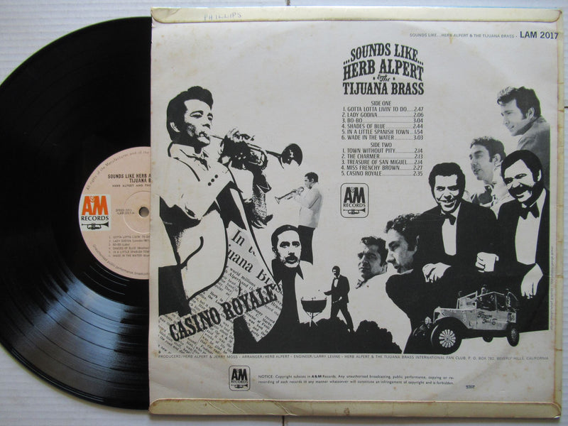 Herb Alpert And The Tijuana Brass | Sounds Like | VG