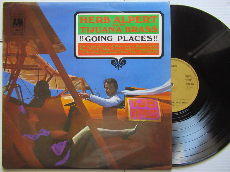 Herb Alpert And The Tijuana Brass | Going Places | UK | VG+