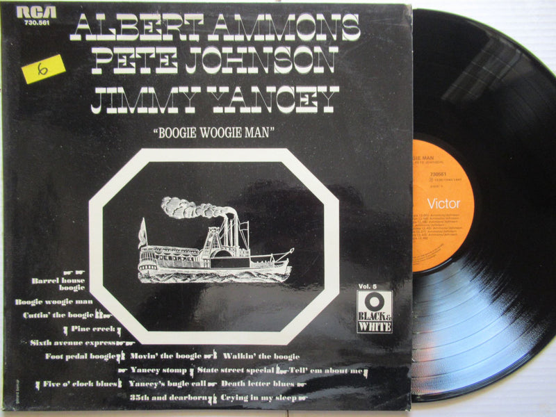 Albert Ammons Pete Johnson Jimmy Yancey | Boogie Woogie Man | RSA VG+