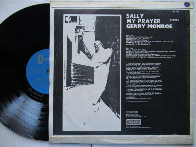 Gerry Monroe | Sally My Prayer ( RSA VG+ )