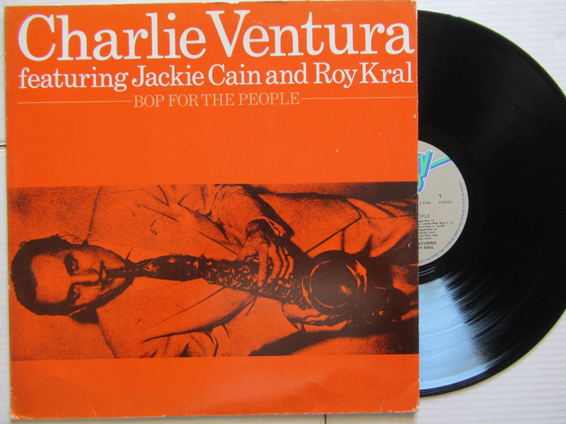 Charlie Ventura Featuring Jackie Cain And Roy Kral | Bop For The People | UK | VG+