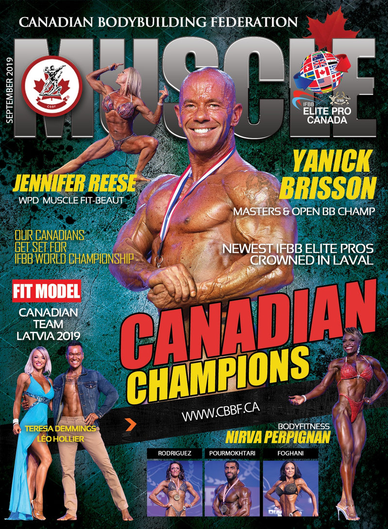 Championne Canadienne de Body Fitness 2019