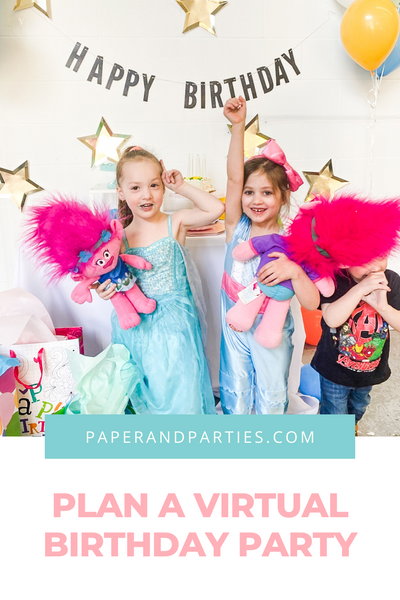 How to Host a Virtual Birthday Party
