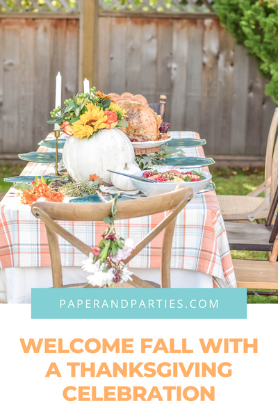 Welcome Fall With A Thanksgiving Celebration