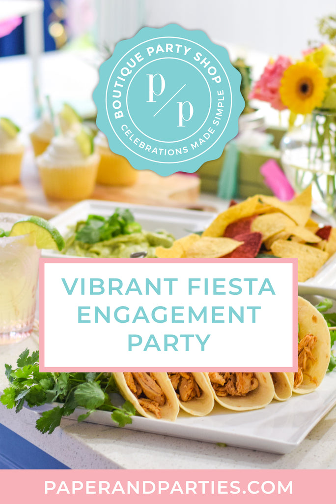 Vibrant Fiesta Engagement Party